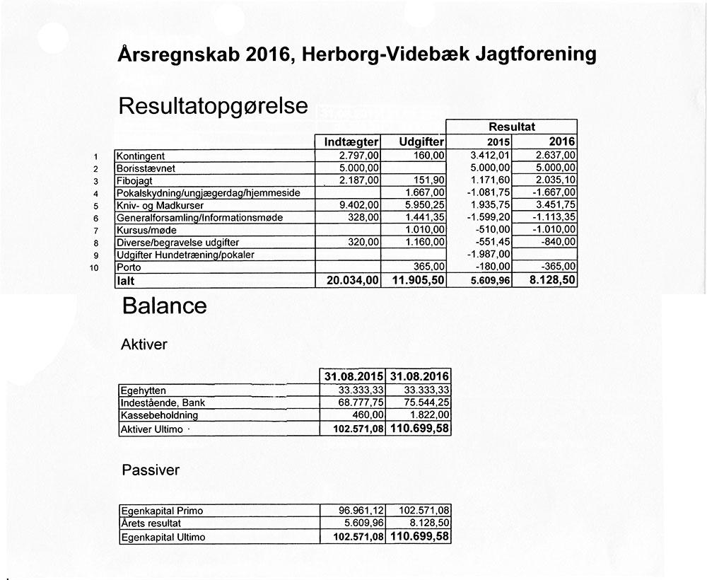 Årsregnskab-2016